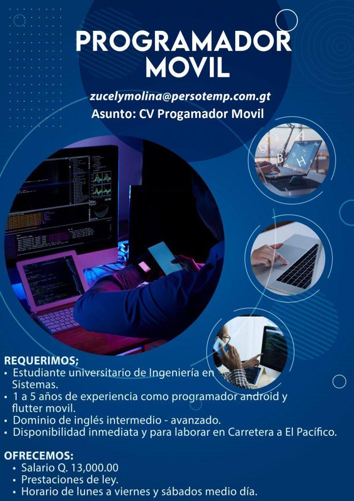 programador movil